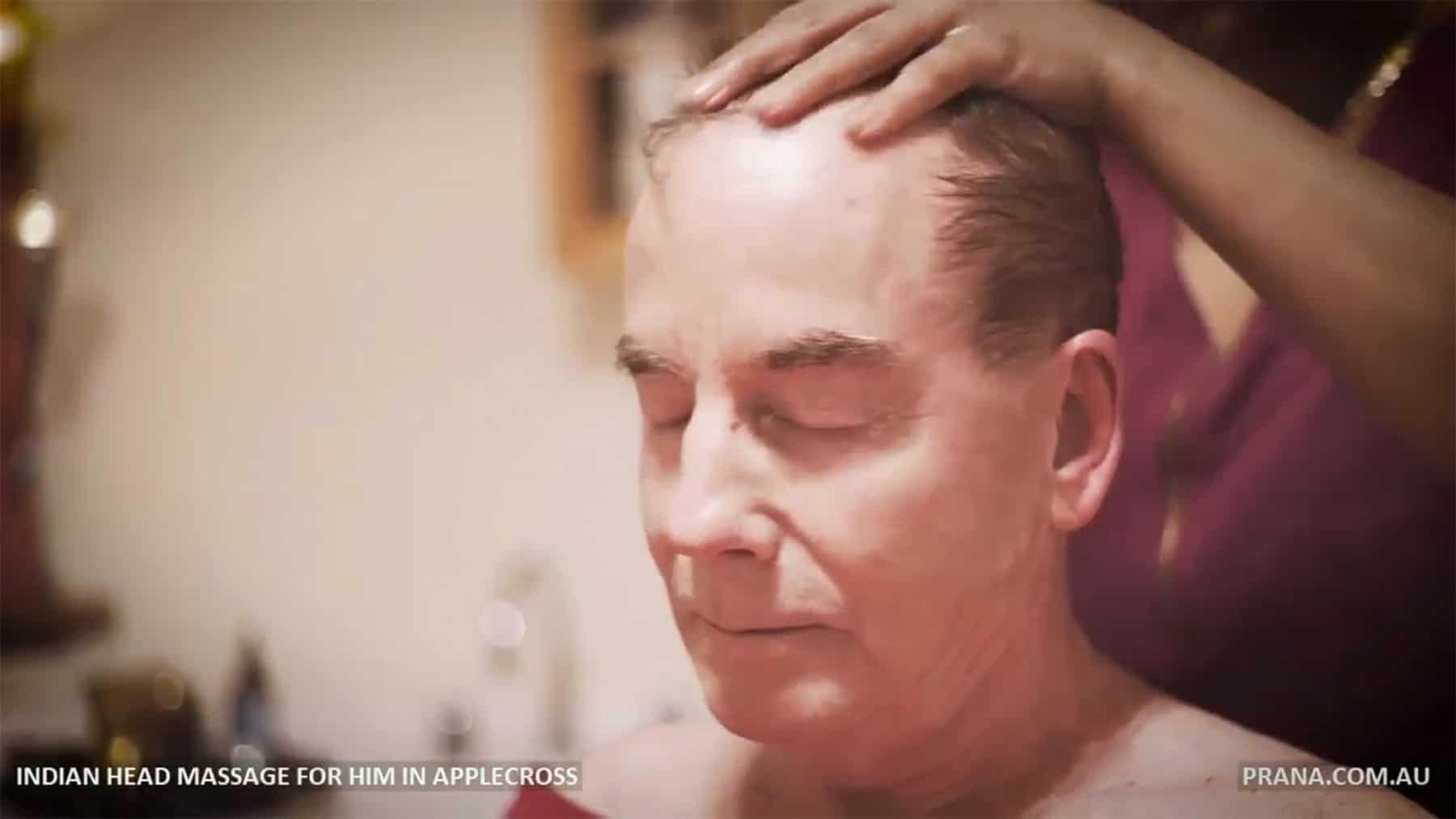Indian Head Massage for Men